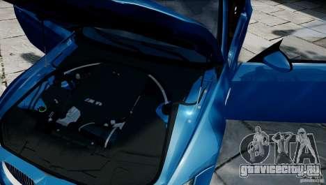 BMW M3 E92 ZCP 2012 для GTA 4 вид справа