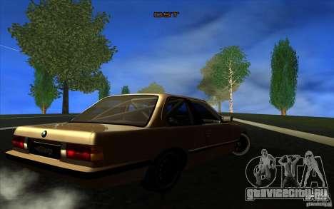 BMW E30 2.7T для GTA San Andreas вид справа