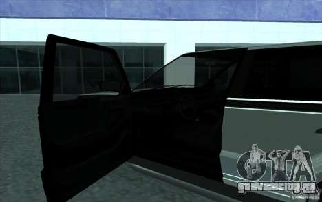 Huntley из GTA 4 для GTA San Andreas вид сзади