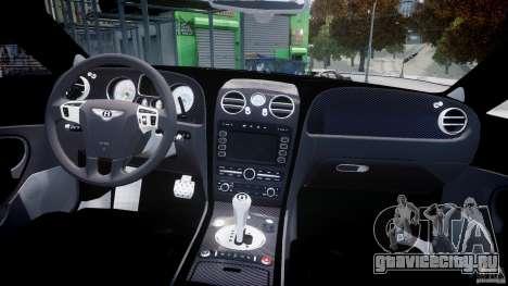 Bentley Continental SS 2010 Gumball 3000 [EPM] для GTA 4 вид сбоку
