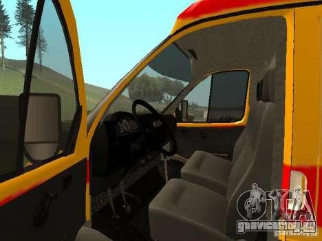 ГАЗ 32217 Реанимация для GTA San Andreas вид справа