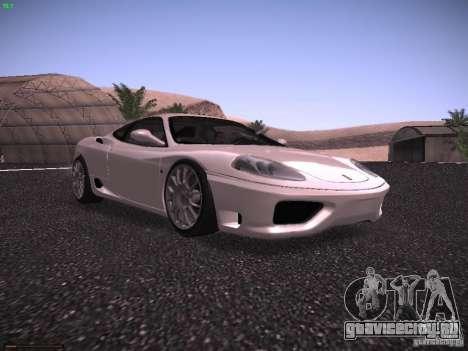 Ferrari 360 Modena для GTA San Andreas вид слева