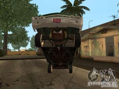 Mercury Park Lane Lowrider для GTA San Andreas вид изнутри