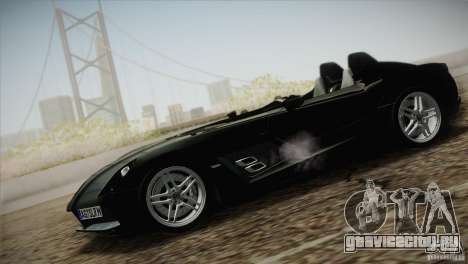 Mercedes-Benz SLR Stirling Moss 2005 для GTA San Andreas вид справа
