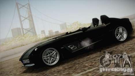 Mercedes-Benz SLR Stirling Moss 2005 для GTA San Andreas вид справа