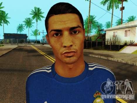 Криштиану Роналду v2 для GTA San Andreas шестой скриншот
