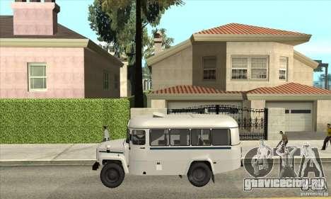 КАвЗ - 39766 для GTA San Andreas вид слева