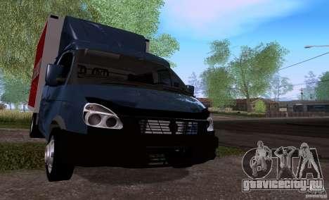ГАЗ 33023 Бизнес Фермер для GTA San Andreas вид слева