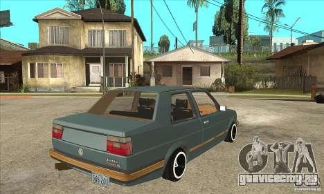 Volkswagen Jetta MKII VR6 для GTA San Andreas вид справа