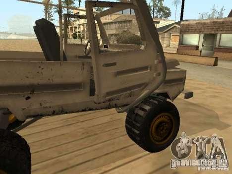 Луаз 969 Offroad для GTA San Andreas салон