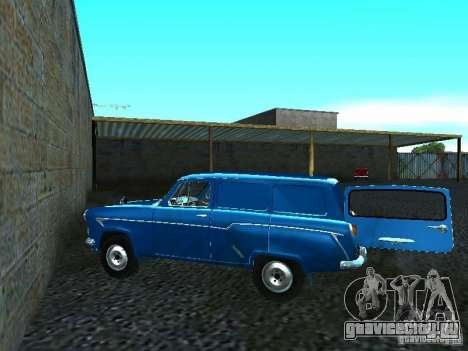 Москвич 429 для GTA San Andreas вид сзади слева