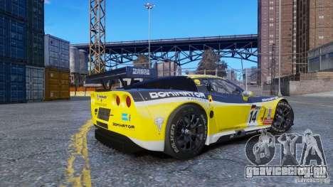 Chevrolet Corvette C6R GT1 для GTA 4 вид слева