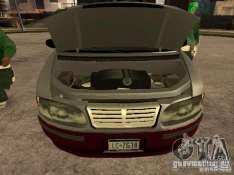 HD Blista для GTA San Andreas вид справа