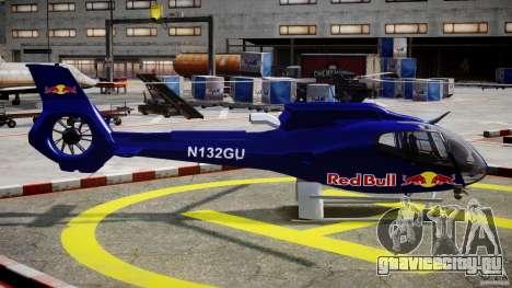 Eurocopter EC130 B4 Red Bull для GTA 4 вид изнутри