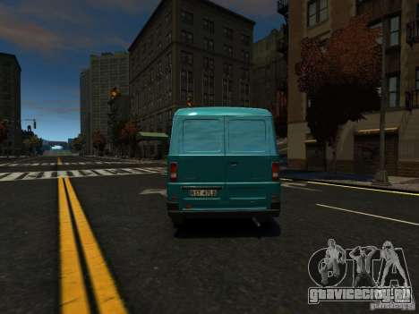 Daewoo Lublin 3 2000 для GTA 4 вид сзади