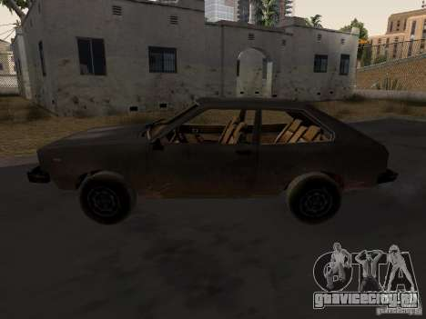 Авто 3 из CoD4-MW v2 для GTA San Andreas вид слева