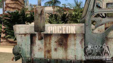 Трактор Т-40 для GTA Vice City вид сверху