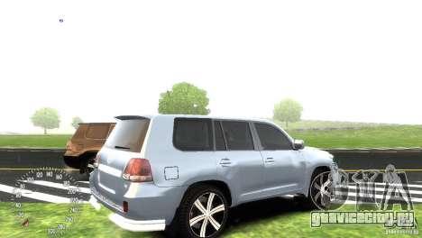 Toyota Land Cruiser 200 RESTALE для GTA 4 вид сзади