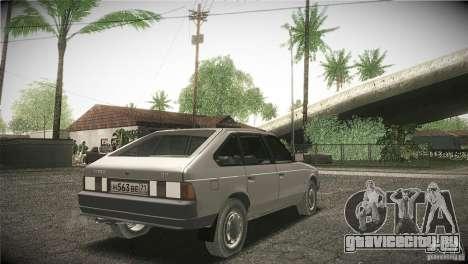Москвич 2141 Святогор для GTA San Andreas вид сзади слева