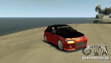 RENAULT LOGAN SPORT для GTA 4 вид сзади