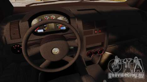 Volkswagen Polo Edit для GTA 4 вид сверху