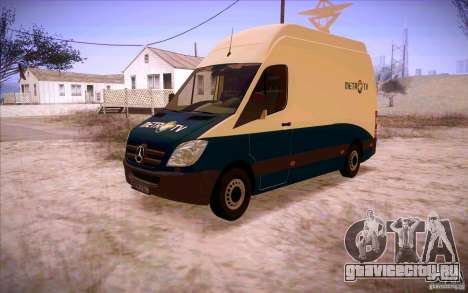 Mercedes Benz Sprinter 311 CDi для GTA San Andreas вид слева