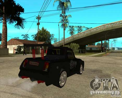 ВАЗ 2104 volk для GTA San Andreas вид сзади слева