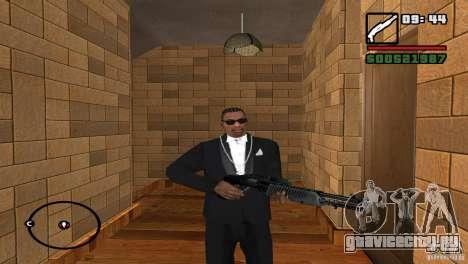 HD Сборка оружия для GTA San Andreas пятый скриншот