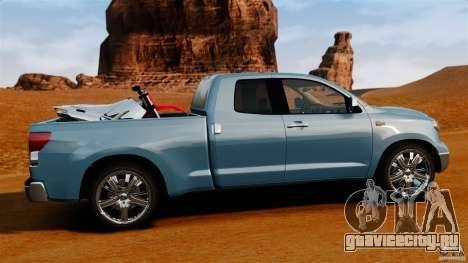 Toyota Tundra 2011 для GTA 4 вид слева
