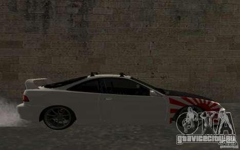 Acura Integra Type-R для GTA San Andreas вид слева