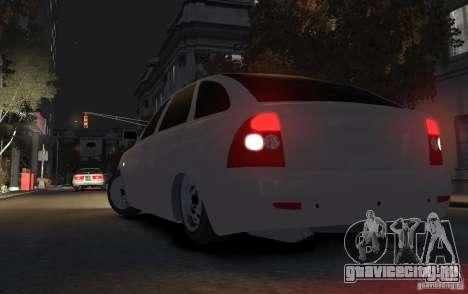 Lada Priora ВАЗ 2172 для GTA 4 вид сзади слева