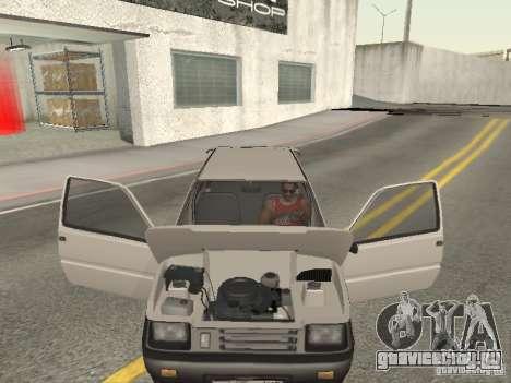 ВАЗ 1111 Ока Белка для GTA San Andreas вид сбоку