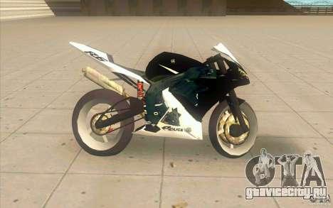 Yamaha Copbike Beta для GTA San Andreas вид слева