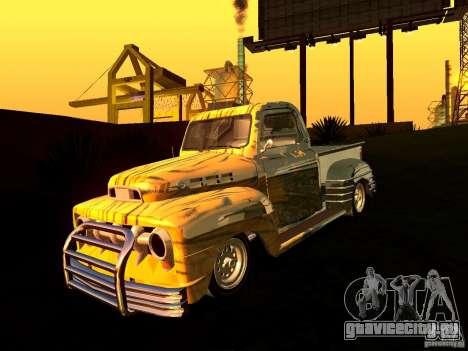 Ford Pick Up Custom 1951 LowRider для GTA San Andreas вид справа
