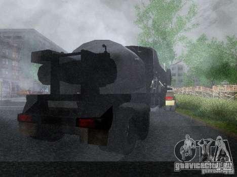 Прицеп к Armored Mack Titan Fuel Truck для GTA San Andreas вид справа
