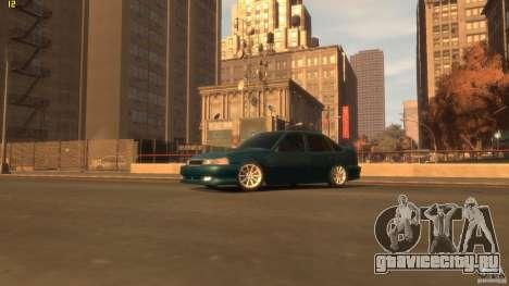 Daewoo Nexia Tuning для GTA 4 вид сзади слева