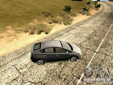 Toyota Prius Hybrid 2011 для GTA San Andreas вид слева