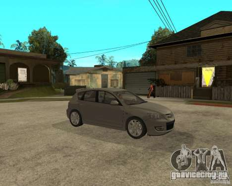 Mazda 3 Sport 2003 для GTA San Andreas вид справа