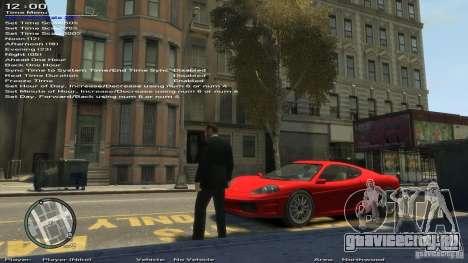 Simple Trainer Version 6.3 для 1.0.6.0, 1.0.7.0 для GTA 4 девятый скриншот