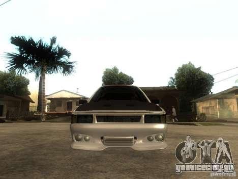 Renault 9 GTD для GTA San Andreas вид справа