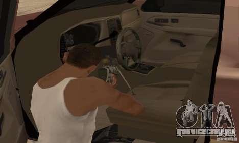 Chevrolet Suburban для GTA San Andreas вид снизу