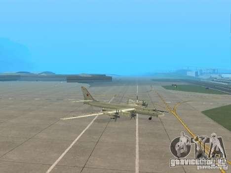 Ту-95 для GTA San Andreas вид слева