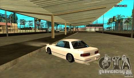 Nissan Silvia S13 Old School для GTA San Andreas вид слева