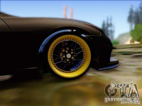 Infiniti G37 HellaFlush для GTA San Andreas вид сзади
