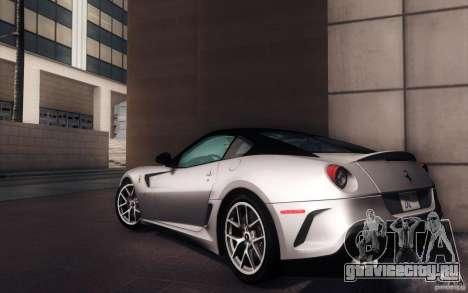 Ferrari 599 GTO 2011 для GTA San Andreas вид слева