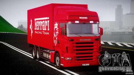 Scania R580 Tandem для GTA 4 вид справа