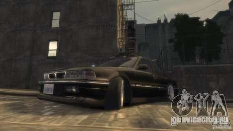 Mitsubishi Galant Stance для GTA 4 вид слева