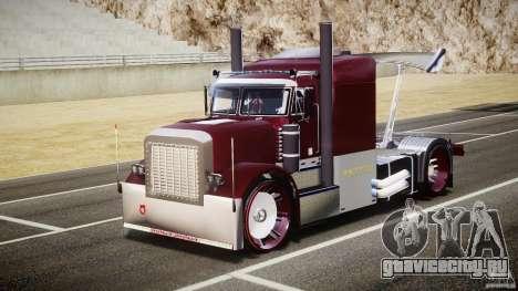 Peterbilt Sport Truck Custom для GTA 4 вид сзади