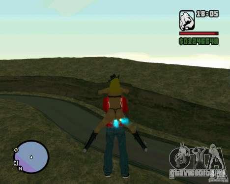 Ebisu Touge для GTA San Andreas четвёртый скриншот