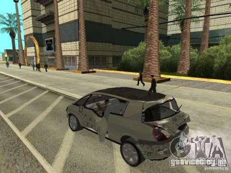Renault Avantime для GTA San Andreas вид сзади